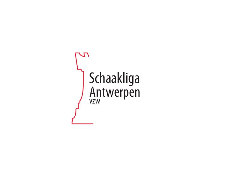 Nieuw logo Schaakliga Antwerpen vzw