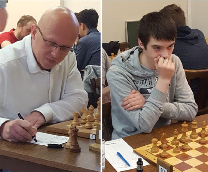 S. Docx en S. Dauw, kampioenen VSF 2018